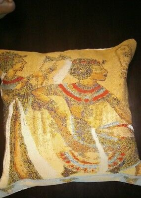 Egyptian Decorative Cushion Cover (High Quality),Luxury Pharaonic,Made in Egypt.