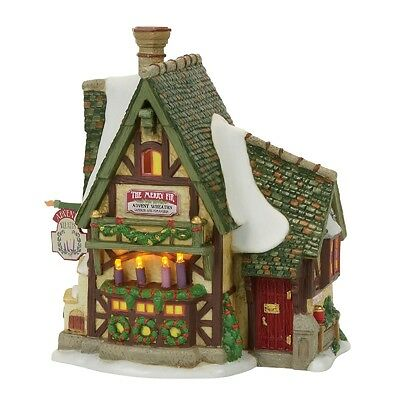 "Dept 56 Dickens Village ""THE MERRY FIR ADVENT WREATHS"" 2017 NIB FREE SHIP"