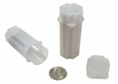 Guardhouse Quarter Coin Tube - 5 Pack (Holds 40 Coins)