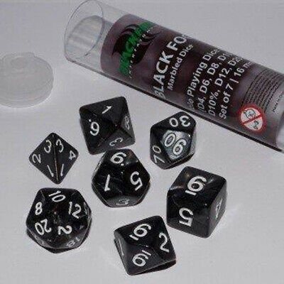 ADC Blackfire Entertainment 91654 - Role Playing Wrfel Set, 16 mm, 7 Stck, Fog