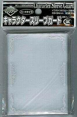 KMC Standard Sleeves - Character Guard Clear with Florals 60 oversized Sleeves