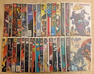 Lobo Mini-Series And One-Shots: Lot Of 32 | Vf- To Nm