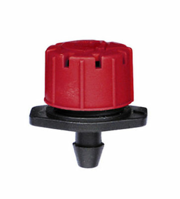 100 x Adjustable Flow Water Irrigation Drip Dripper Drippers Sprinkler System