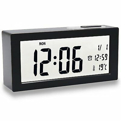 LED sveglia luminoso Digital Suonerie Orologio digitale allarme Clock (J7F)
