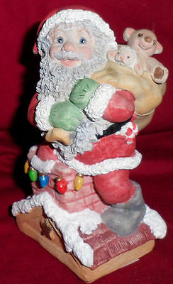 Collectible Dreamsicles Santa Claus On Rooftop Figurine Collection Kristin 99