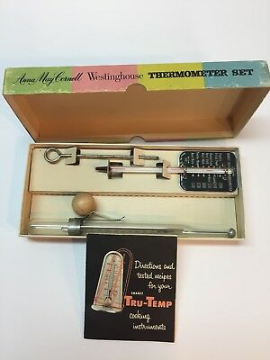 The Anna May Cornell Westinghouse Thermometer Set Vintage