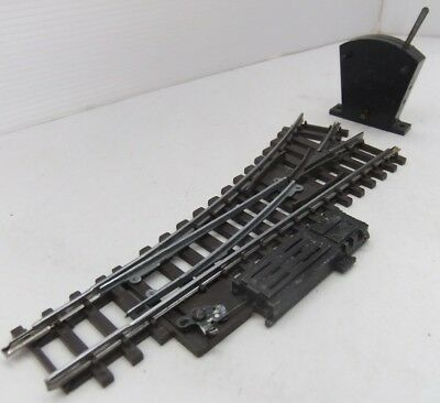 TRI-ANG HORNBY R490 Series 4 Left Hand Point / Turnout with switch and motor
