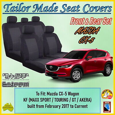 Tailor Made Seat Covers: Mazda CX5 (CX-5) KF Maxx-Sport GT Akera; 02/2017 - ON