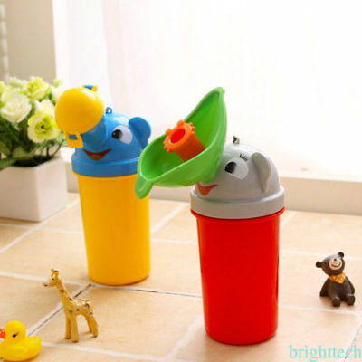 Baby Boys Girls Kids Portable Urinal Bottle Camping Travel Car Toilet Pee Potty