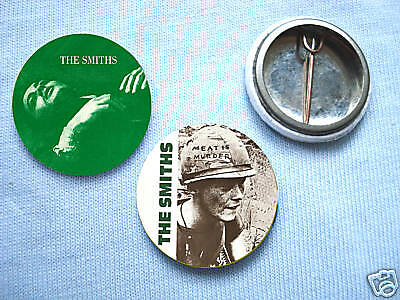 The Smiths-Set Of 2  Badges Morrissey