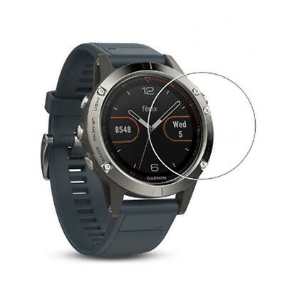Film Guard Transparent Tempered Glass Screen Protector For Garmin Fenix 5 Watch