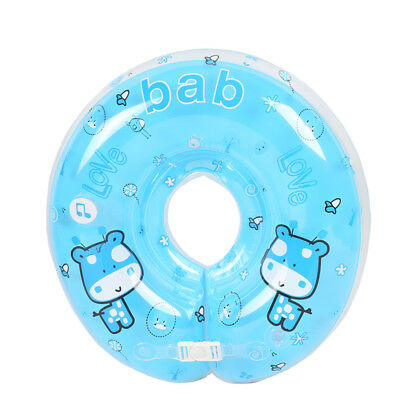 New Baby Aids Infant Swimming Neck Float Inflatable Tube Ring Safety