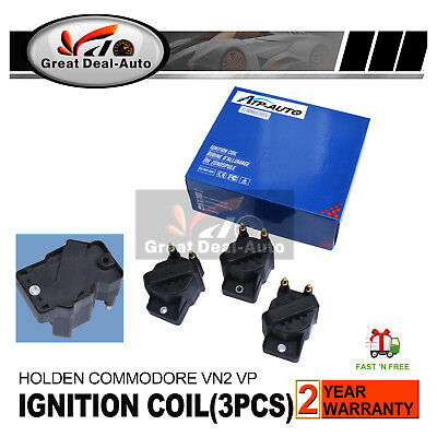 3 Ignition Coil for Holden Commodore VN2 VP VR Ute One Tonner Crewman VY 3.8L