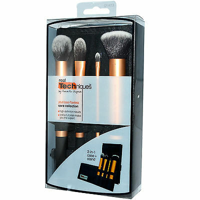 Real Techniques Core Collection Set Brochas de maquillaje Kit Profesional (1403)