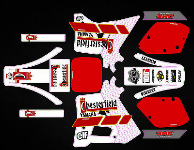 Kit Déco Moto pour / Mx Decal Kit For Yamaha YZ 250 1989 -  Chesterfield Replica