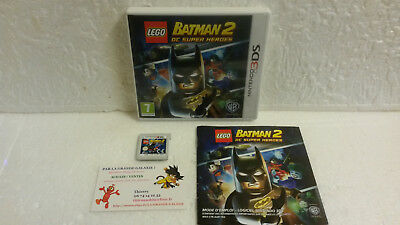 Jeu Vidéo Nintendo 3DS / 2DS Lego Batman 2 DC Super Heroes Warner Game Comics VF