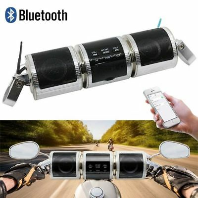 New Wasserdicht FM Radio MP3 USB Bluetooth Motorrad Lautsprecher Speaker Audio