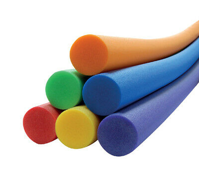 Solid Foam Floating Pool Noodle Single Solid Core Swimming Pool Noodles Swim Aid