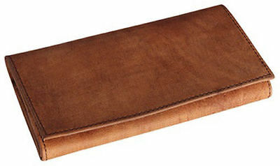 4th Generation 3-Pipe Tobacco Zipper Pouch in Hunter Brown Suede 7956