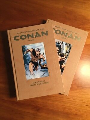 THE BARRY WINDSOR-SMITH CONAN ARCHIVES Vol. 1 + Vol. 2 Hardcover