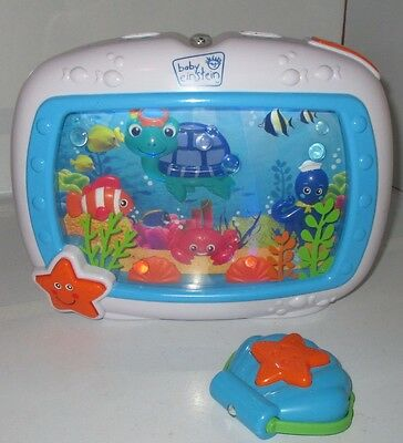 Sound Machine Baby Einstein Sea Dreams Soother Used w/ Remote Control Works Nice