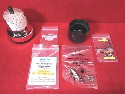 Hamamatsu R10133 PMT KIT with VD, BNC & Machined End-Cap - Photomultiplier Tube