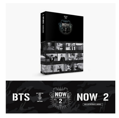 BTS Bangtan Boys Now 2 Photobook DVD + Bookmark Photo Frame Stand Full Set KPOP
