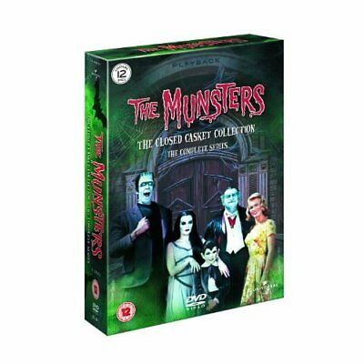 The Munsters - Complete Collection (Repackage) DVD Box Set UK Region 2 Brand New
