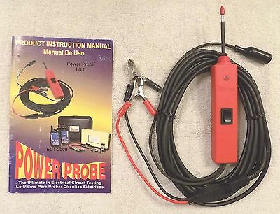 Original Red Power Probe I Diagnostic Tool w/Manual -  NEW   UNUSED   USA