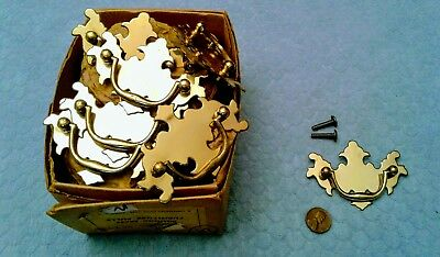 Chippendale Brass Drawer Pulls 2 Inch Centers Vintage NOS
