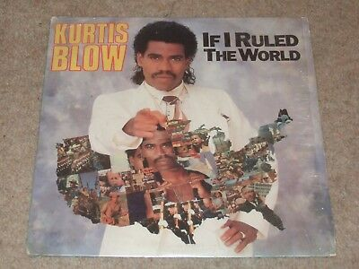 Kurtis Blow ‎– If I Ruled The World    1985   OLD SKOOL HIP HOP!!