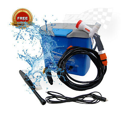 Portable Jet Wash Kit - 20 Litres portable bucket cleaning caravan Boat car van