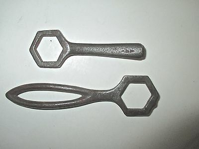 Pair of Antique Wrought Iron Wrenches.