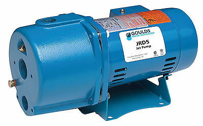JRD5 Goulds 1/2HP Convertible Water Well Jet Pump 115/230V