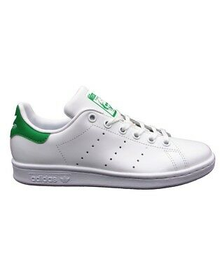 Adidas Stan Smith J Sneakers Bianco-Verde M20605