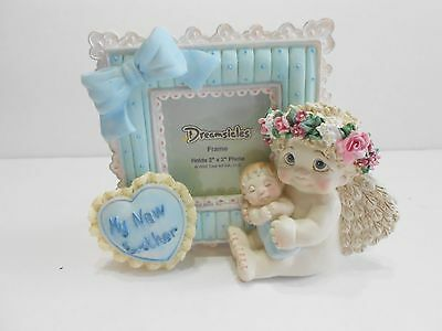 Dreamsicles MY NEW BROTHER Photo Picture Frame Cast Art #32375 #b