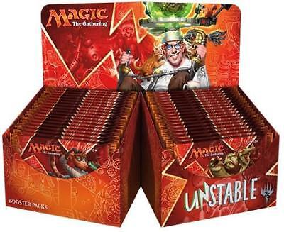 Magic Mtg Unstable Booster Box Factory Sealed Card Game