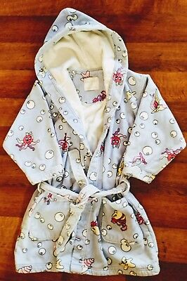 FRETTE xl Kids BUBBLES Cotton Terry Bathrobe VERY NICE!!! Hooded Robe XL