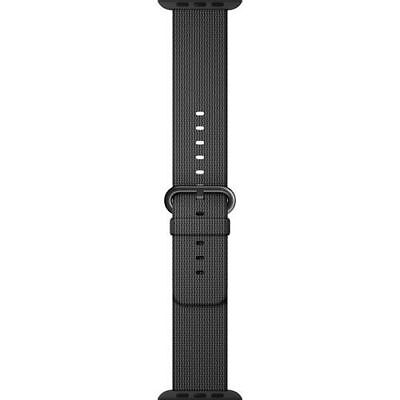 Apple Watch Woven Nylon Band 38mm Black MM9L2AM/A