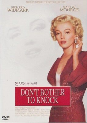 Don't Bother to Knock (1952) Marilyn Monroe / Richard Widnark DVD NEW *FAST SHIP