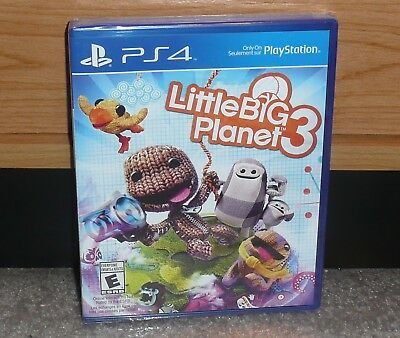 PS4 - LITTLE BIG PLANET 3 - LBP3 (Brand NEW Sealed) NTSC worldwide shipping