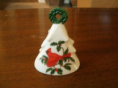 Lefton Exclusives Japan # 01205 Christmas Cardinal  apprx 4 in Bell