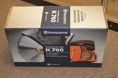 Husqvarna K760 Rapid Cut 14'' Concrete Saw *NEW in Box*