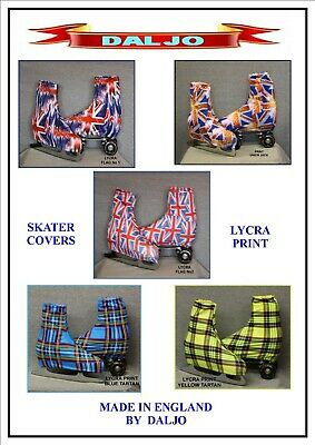 Ice Skating / Roller Skating  Lycra Print Boot Covers  No 5
