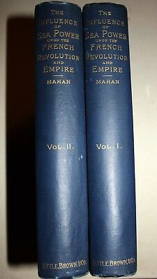 USA, A.Mahan, Influence of Sea Power upon French Revolution and Empire 1793-1812