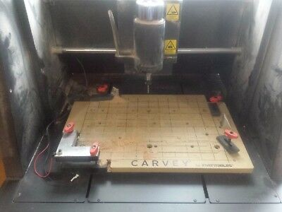 Carvey CNC by Inventables with accessories