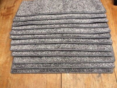 22x8.50inches(56x22cm) 12x STAIR PADS / TREADS GREY #4015