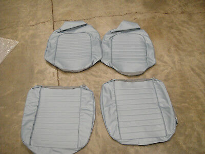 1959 Corvette Frost Blue Seat Covers, New