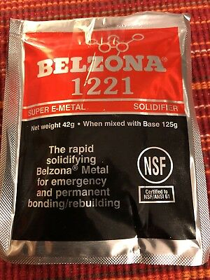 Belzona 1221 Super E Metal 125g Total Solidifier And Base