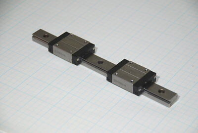 MISUMI Miniature Stainless Linear Slide Set SSEBZ16 (2) 1 Rail 190mm  (C1R)